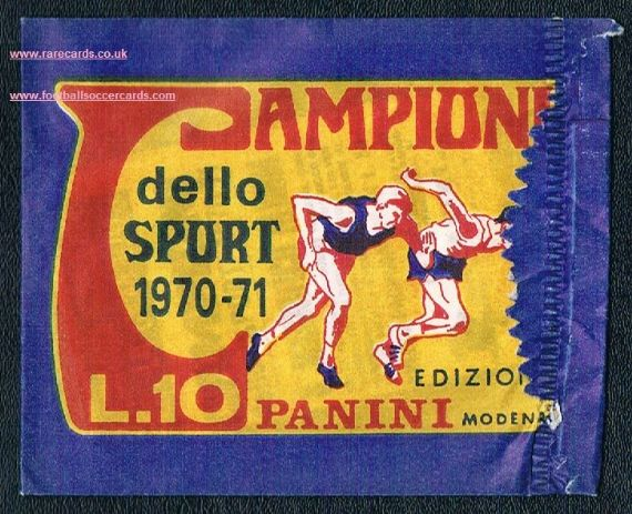 1970 Panini Campioni SEALED envelope